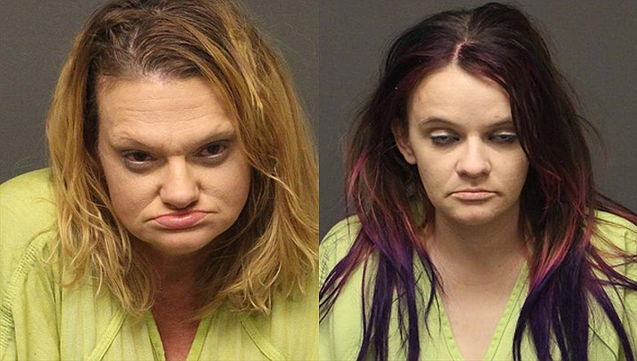 Christie M. Fortner and Crystal A. Black (MCSO photos)