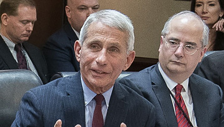 Many states are advancing efforts to vaccinate the elderly from COVID-19. Dr. Anthony Fauci, the nation's top infectious disease expert, is shown. (Official White House file photo/Public domain)