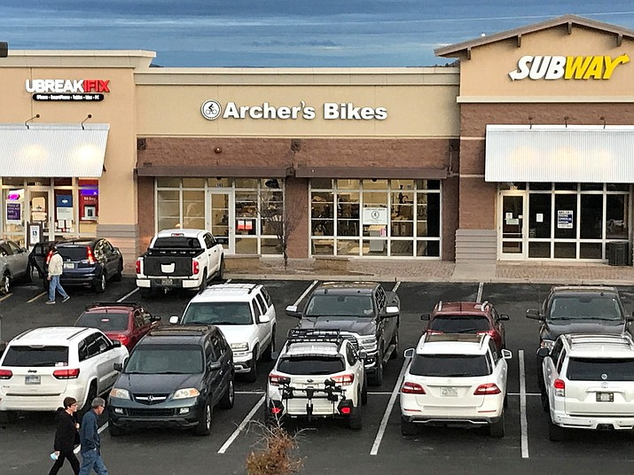 Archer's Bikes, an electric bike and pedal bike dealer, conducted a soft opening in early February and soon will be fully operating at 5672 E. Highway 69 in the Prescott Valley Crossroads shopping center. (Richard Haddad/Courier)