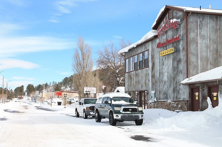 Snow is expected this weekend in Williams. (Loretta McKenney/WGCN)