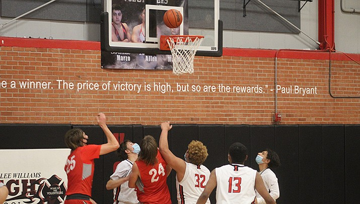Lee Williams High School beat Greenway 57-52 in a boys basketball game on Friday, Feb. 12. (Miner file photo)