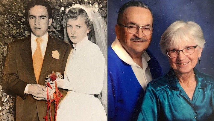 Tito and Doneta Baca were selected as the winners of the Town of Chino Valley's Longest Married Couple contest. (Courtesy)