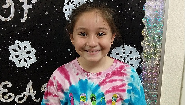Congratulations to Izzabella from Granville Elementary School for being the Humboldt Unified School District Student of the Week. (HUSD)