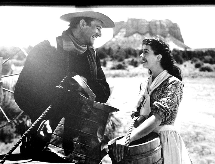 Angel and the Badman, starring John Wayne and Gail Russell, 1947.