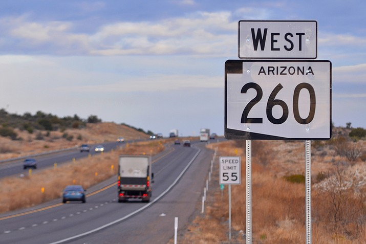 """On Feb. 1, State Sen. Wendy Rogers introduced a bill """"urging the Arizona Department of Transportation to designate State Route 260 as Donald J. Trump Highway."""" VVN/Vyto Starinskas"""