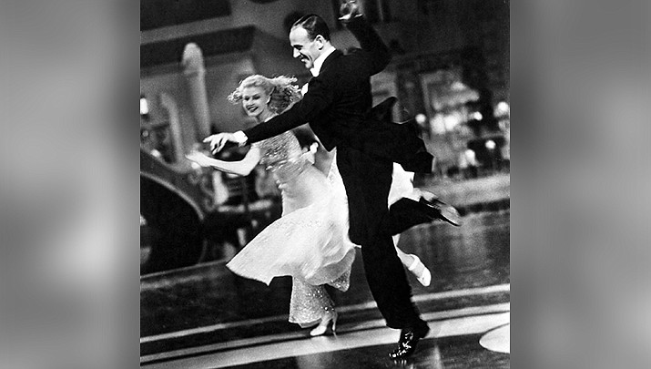 Ginger Rogers and Fred Astaire dance in the 1935 movie Top Hat, which will be shown at the monthly movie night at the Kathryn Heidenreich Adult Center at 6 p.m. Friday, Feb. 26. (IMDb photo)