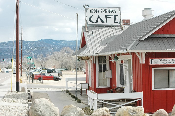 The beloved Iron Springs Café in Prescott has closed. Since 1974, the café had served Southern-style, Cajun and Mexican dishes, as well as brunch, in a former train depot at 1501 Iron Springs Road in Prescott. (Doug Cook/Courier)