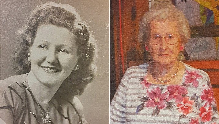 A centenarian in Prescott Valley is celebrating her 100th birthday on Feb. 25. Catherine Basalego was born in Shamokin, Pennsylvania, in 1921. She moved to Harrisburg, Pennsylvania, where she raised three daughters with her husband, Peter. Catherine is an amazing individual. She stays active, is a talented seamstress who has shared her talent and handiwork with everyone – especially crocheting. She says her secret to longevity is remaining in a positive frame of mind, and living a prayerful life. Neighbors, friends and familiy will celebrate her special day with a drive-by celebration at her home in Prescott Valley, scheduled for 2 p.m. Thursday, Feb. 25. (Courtesy photos)