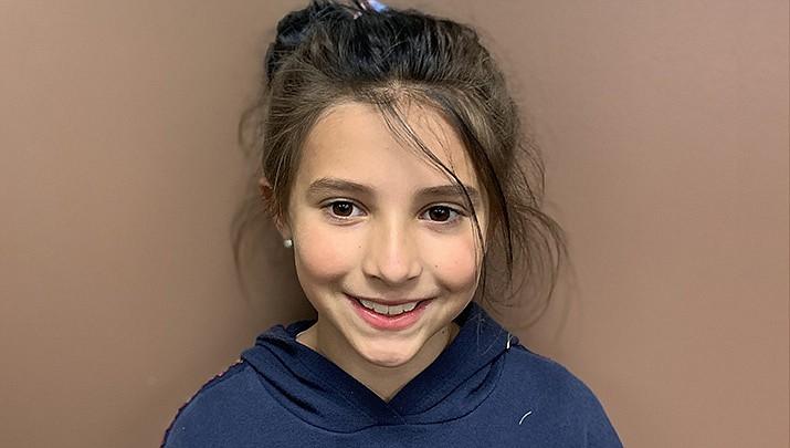 Mackenzie Hernandez from Humboldt Elementary School is this week's HUSD Student of the Week.  (HUSD)
