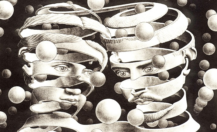 """Sedona International Film Festival continues its Art on Screen series with """"M.C. Escher: Journey to Infinity,"""" on Tuesday, March 2 at the festival's Mary D. Fisher Theatre."""