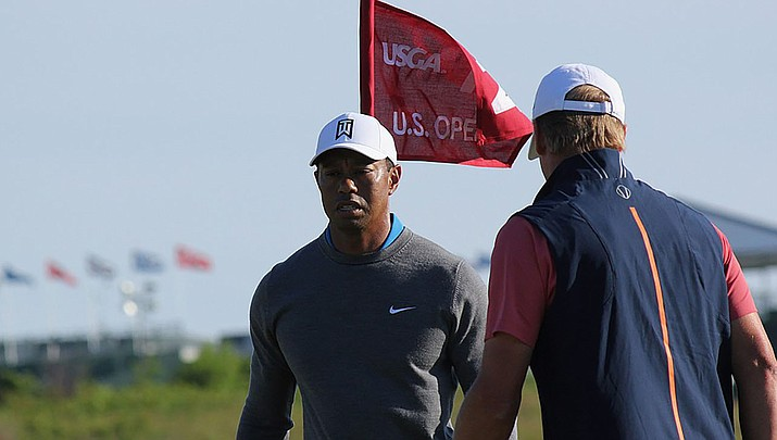 Tiger Woods sustained serious leg injuries in an automobile crash on Tuesday, Feb. 22 near Los Angeles. (Photo by Peetlesnumber1, CC by 4.0, https://bit.ly/2X5oflV)