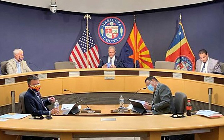 By a 15-13 margin Tuesday, the Arizona Senate gave preliminary approval to expand the size of the Maricopa County Board of Supervisors from five to nine. SB 1498 also would boost the size of the Pima board, but only to seven. The measure still needs a final roll-call vote in the Senate before going to the House. File photo