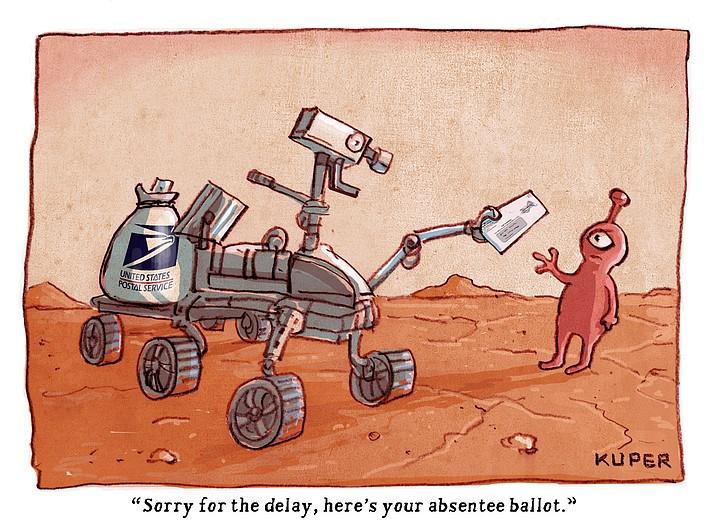 Editorial cartoon (2): Feb. 28, 2021