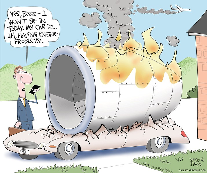 Editorial cartoon (2): March 1, 2021