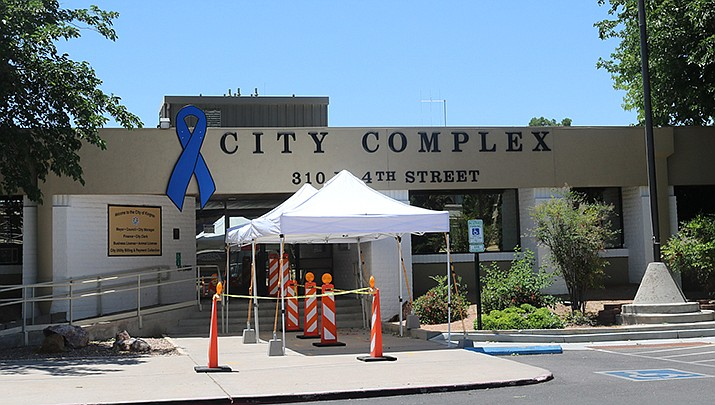 The computer system for the City of Kingman has experienced a cyber attack. The city complex is shown. (Miner file photo)