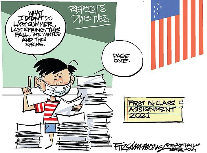 Editorial Cartoon | March 3, 2021