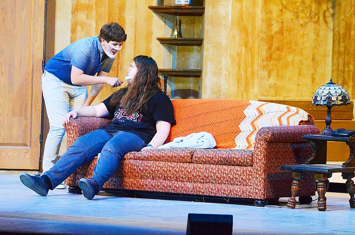 Weekends, March 5 through March 14, Mingus Union's theater troupe, A.T.O.R.T., will present its first production of the school year, 'Cash on Delivery.' VVN/Vyto Starinskas