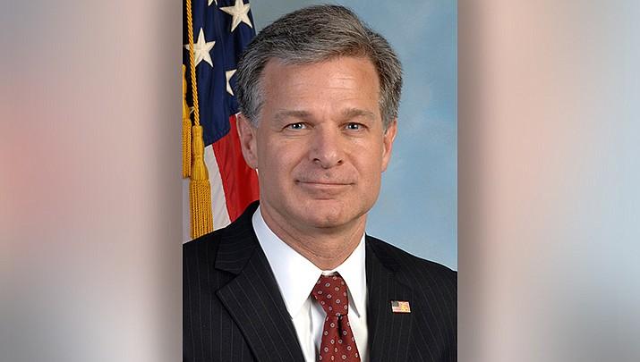 FBI Director Chris Wray (Official FBI photo/Public domain)