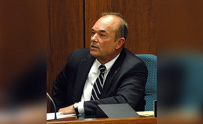 During a two-hour hearing Tuesday, the justices of the U.S. Supreme Court were told that it was then-Sen. Don Shooter who first attempted in 2011 to make it a crime for anyone to collect anyone else's voted ballot and take it to polling places. Capitol Media Service file photo