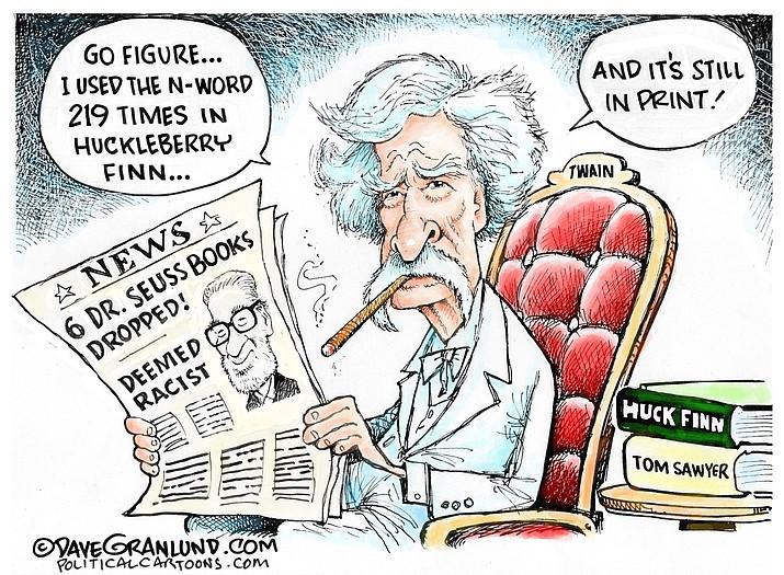 Editorial cartoon (1): March 4, 2021