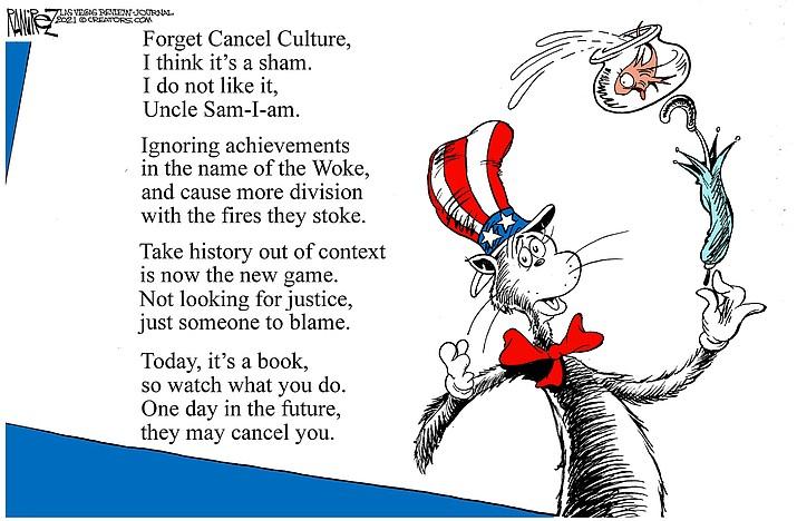Editorial cartoon (2): March 4, 2021