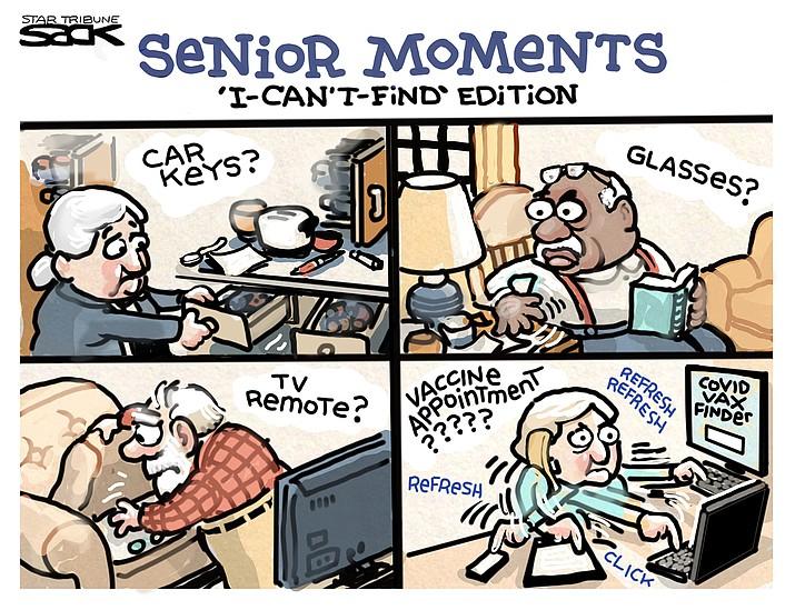 Editorial cartoon (1): March 5, 2021