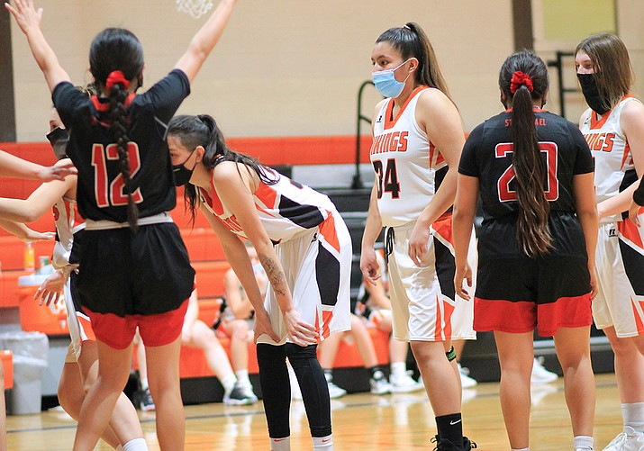 The Lady Vikings are ranked fourth in the 1A Conference. (Wendy Howell/WGCN)
