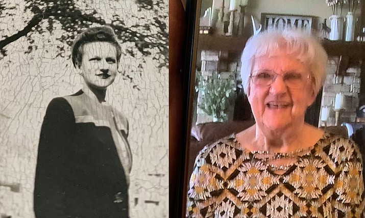 """Josephine Marie Beal of Prescott Valley is celebrating her 102 birthday. Beal was born on March 10, 1919. """"She truly is like a bottle of wine, you have gotten better with age,"""" her family wrote. (Courtesy)"""