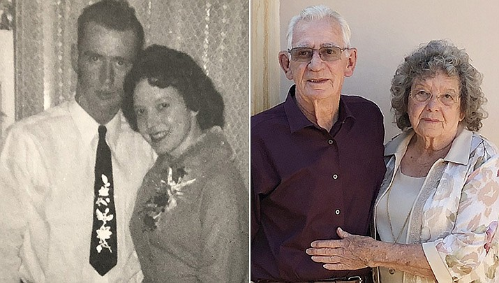 Congratulations to Jim and Jackie Richardson of Dewey-Humboldt as they celebrate their 60th wedding anniversary. Jim and Jackie were married in Delta, Colorado in March 7, 1961. (Courtesy)