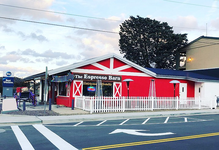 "The Espresso Barn, 1301 E. Gurley St. Suite B in Prescott, announced in a Facebook post March 1, 2021, that it had closed after two years in business on Feb. 28, 2021. Operator Ryan Glass stated that he and his crew are embarking on a ""new endeavor called 'St. Mc's,' "" a coffee shop opening at 532 S. Montezuma St. on March 15. (The Espresso Barn/Courtesy)"