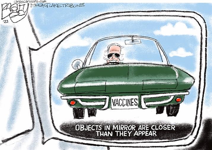 Editorial cartoon (1): March 8, 2021