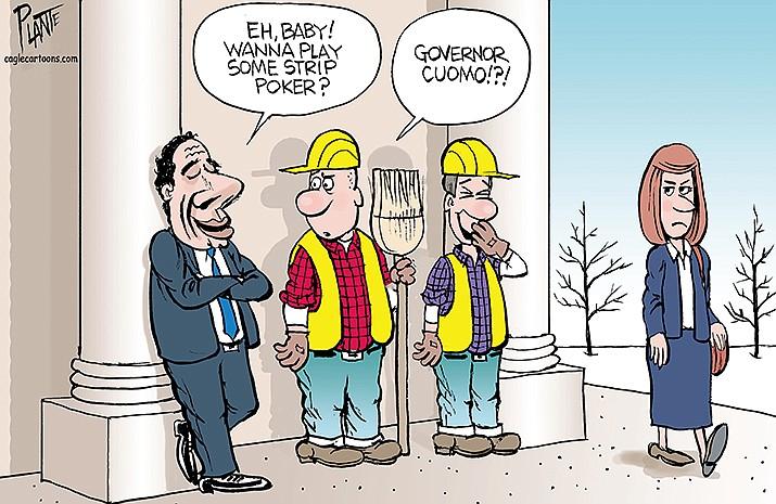 Editorial Cartoon   March 7, 2021