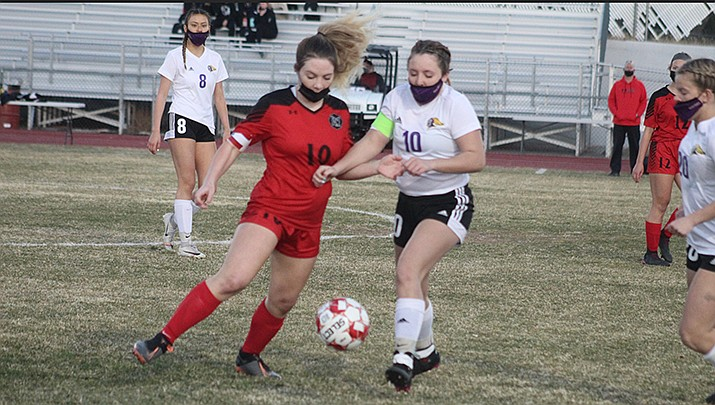The Lee Williams High School girls soccer team beat Dysart 2-1 on Friday, March 5. (Miner file photo)