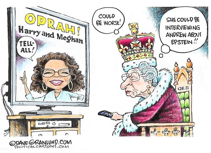 Editorial cartoon (1): March 9, 2021