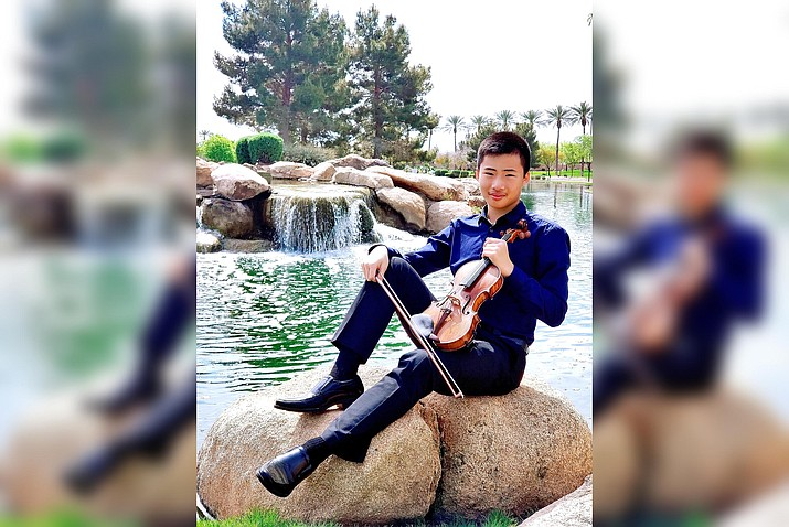 """For the April 11 """"Emerging Artist"""" concert, Ethan Yang will be the soloist."""