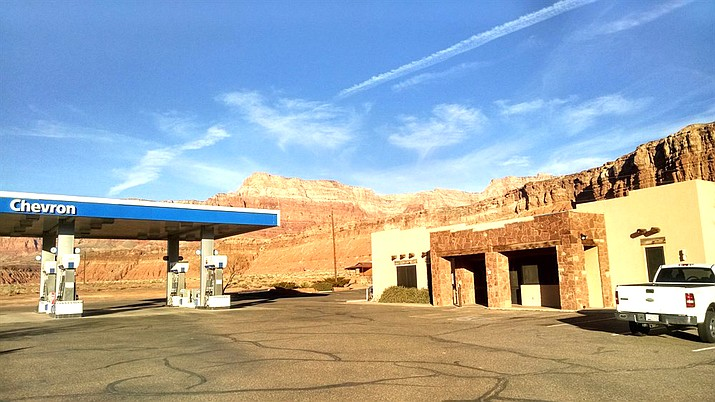 Marble Canyon complex is located 40 miles southwest of Page, Arizona. (Photo/Marble Canyon Lodge)