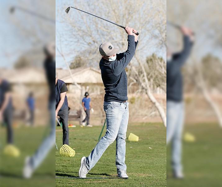 Senior Blake Pierce, pictured, will captain this year's Camp Verde golf team. VVN/Bill Helm