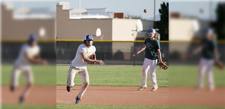 When he's not pitching for Camp Verde, senior Peyton Kelley is expected to see the bulk of his action in the infield this year. VVN/Bill Helm