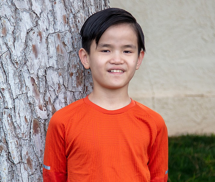 Get to know JJ at https://www.childrensheartgallery.org/profile/jj-0#overlay-context and other adoptable children at childrensheartgallery.org. (Arizona Department of Child Safety)