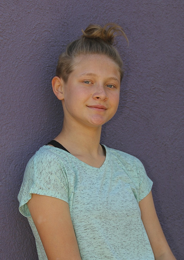 Get to know Nevaeh at https://www.childrensheartgallery.org/profile/nevaeh-d and other adoptable children at childrensheartgallery.org. (Arizona Department of Child Safety)