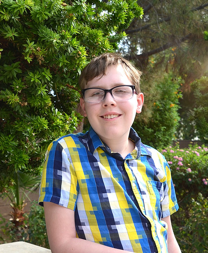 Get to know Owen at https://www.childrensheartgallery.org/profile/owen-e and other adoptable children at childrensheartgallery.org. (Arizona Department of Child Safety)