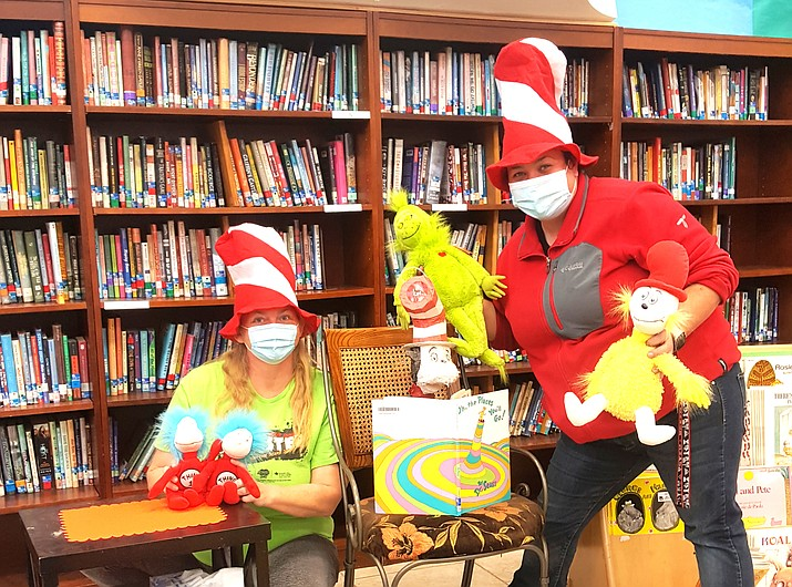 Williams Elementary-Middle School celebrated Read Across America Day March 2. Read Across America is a day to celebrate the joys of reading. It also brings awareness to the importance of reading in education and helps to motivate kids to read more. (Photo/Williams Unified School District)