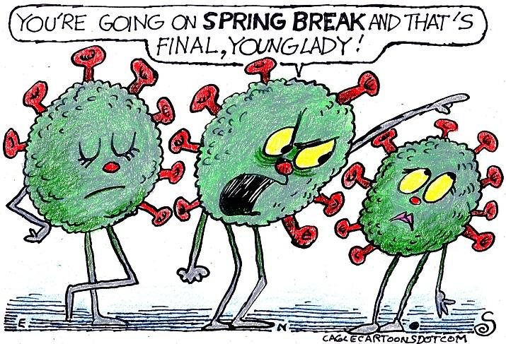Editorial cartoon (1): March 18, 2021