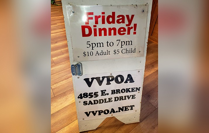 Six VVPOA signs similar to these, have been stolen from State Route 260. Photo courtesy Patti Greeneltch