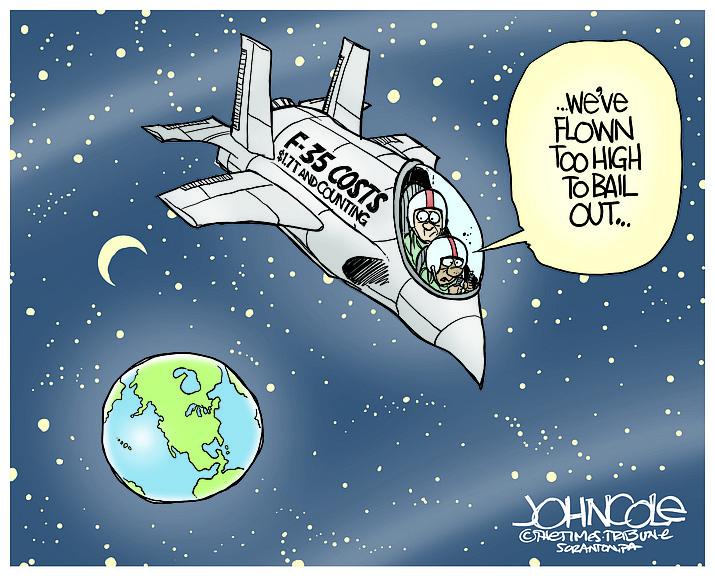 Editorial cartoon (2): March 21, 2021
