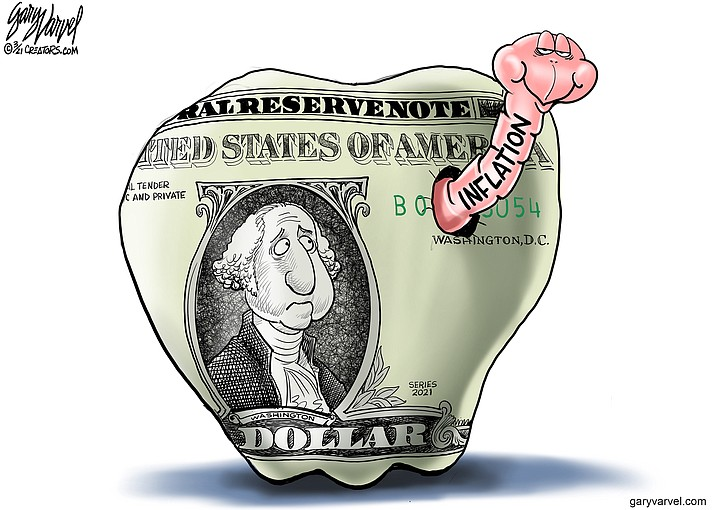 Editorial cartoon (1): March 21, 2021