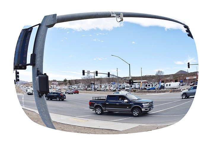 Studies have been underway for several years on how to handle the growing traffic needs at the intersection of highways 69 and 169, and the Central Yavapai Metropolitan Planning Organization has learned funding for the estimated $4.4 million cost of a roundabout there could come through the Arizona Department of Transportation. (Richard Haddad/Courier)