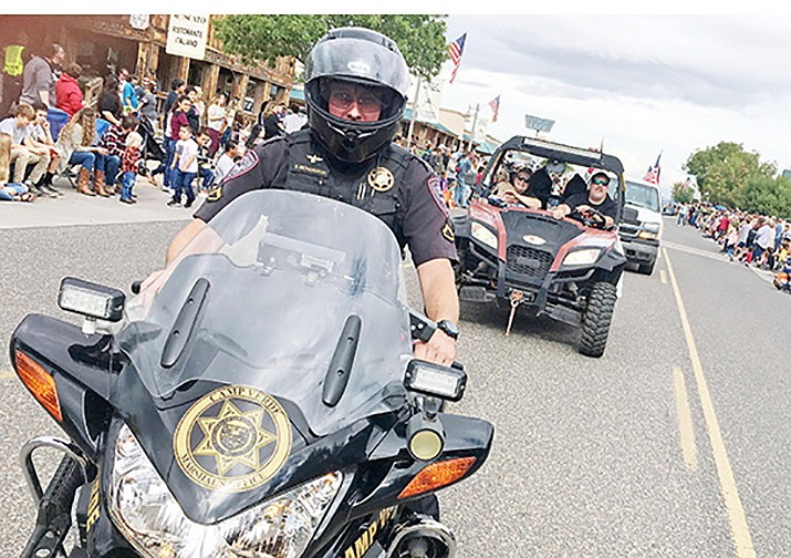 In nearly seven years at the Camp Verde Marshal's Office, Det. Dustin Richardson served as patrol officer and motorcycle officer before transitioning to the department's investigations department in May 2019. VVN/Bill Helm