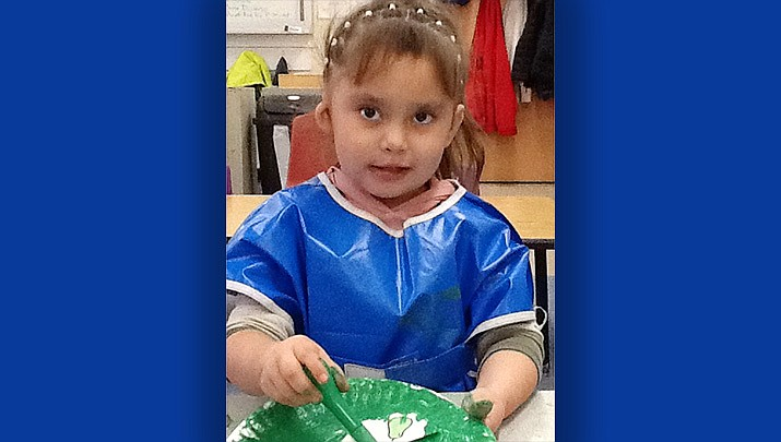Alisia from Bright Futures Preschool is this week's Humboldt Unified School District Student of the Week. (HUSD)