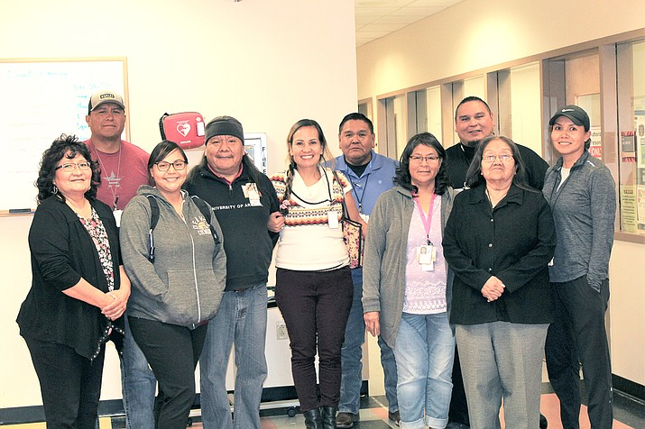 The Navajo Area Special Diabetes program Red Mesa Team helps people work through strategies to deal with diabetes. (Photo/Navajo Area Indian Health Service)